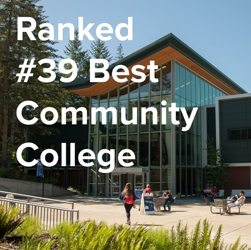 Ranked #39 best community college