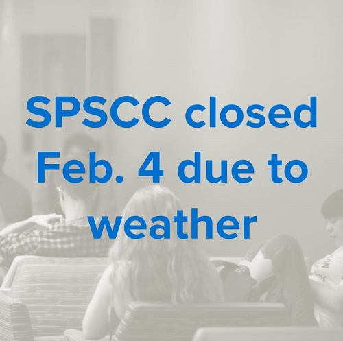 SPSCC closed Feb. 4 due to weather