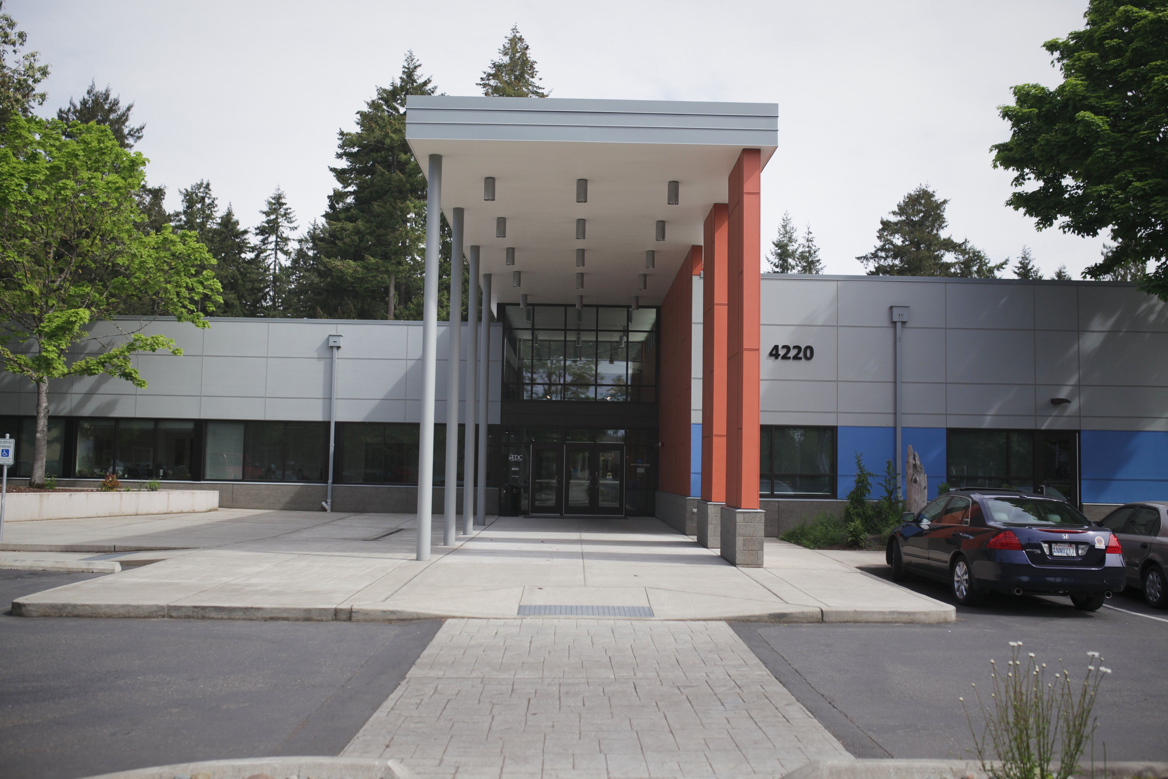 Outside view of the Lacey campus