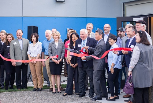 SPSCC ribbon cutting ceremony at Lacey Campus