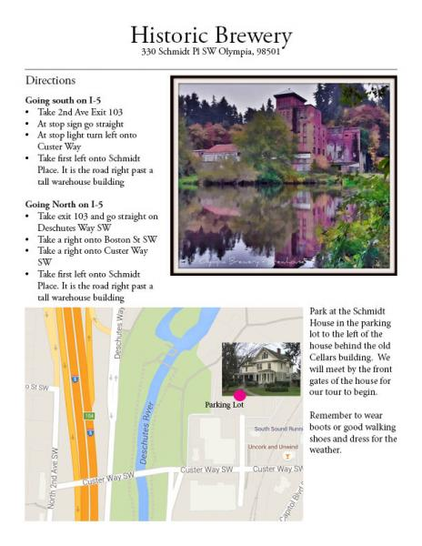 Cce Class Locations Directions South Puget Sound Community College