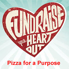 Fundraise your heart out, Pizza for a Purpose