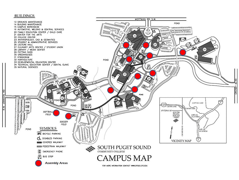 Spscc Campus Map Spscc Campus Map | World Map Gray