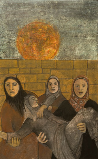 Something About Syria by Marilyn Frasca