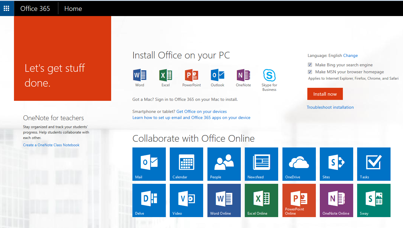 Office 365 Mobile Device Setup | South Puget Sound Community College