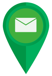 email icon map marker