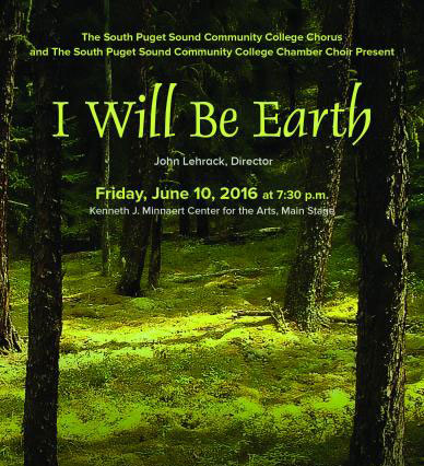 I Will Be Earth choir concert