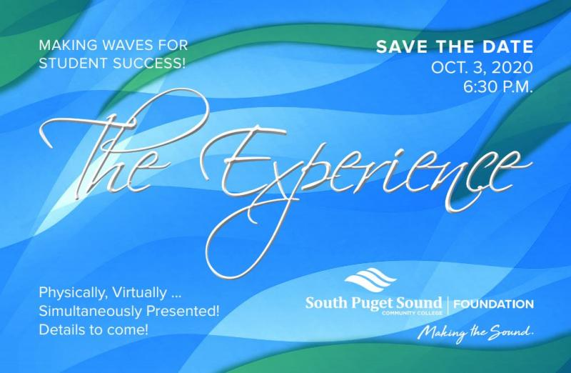 The Experience 2020. Making Waves for Student Success. Oct. 3, 2020