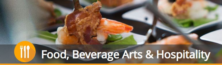 Food, Beverage Arts & Hospitality logo and photo