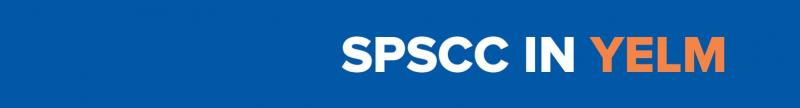 SPSCC in Yelm blue banner