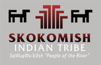 The Skokomish Indian Tribe logo