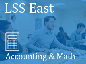 LSS East, Accounting & Math, students in classroom