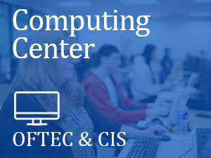 Student Computing Center, CIS Computing, students in classroom