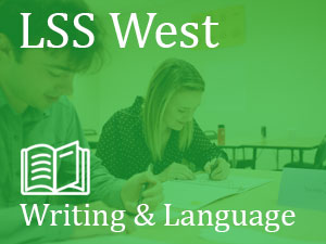 LSS West, Language & Writing, students in classroom