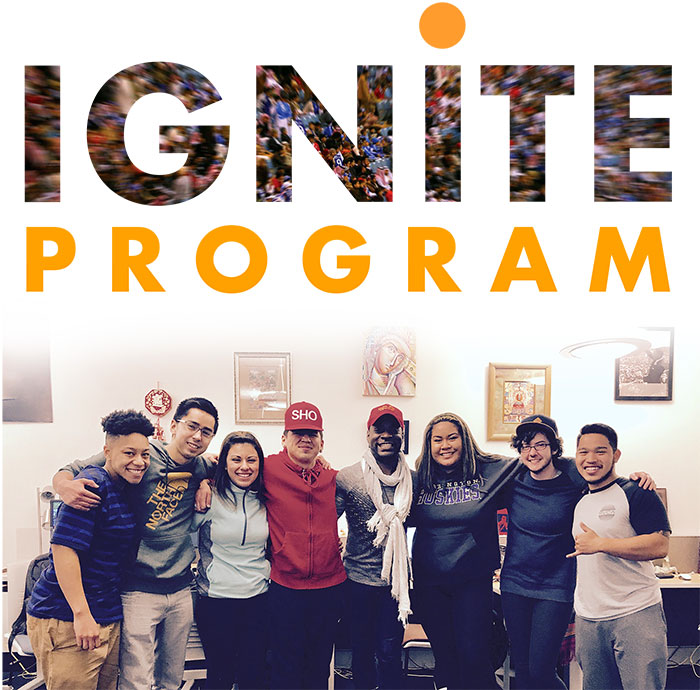 diversity center staff and students in the IGNITE program